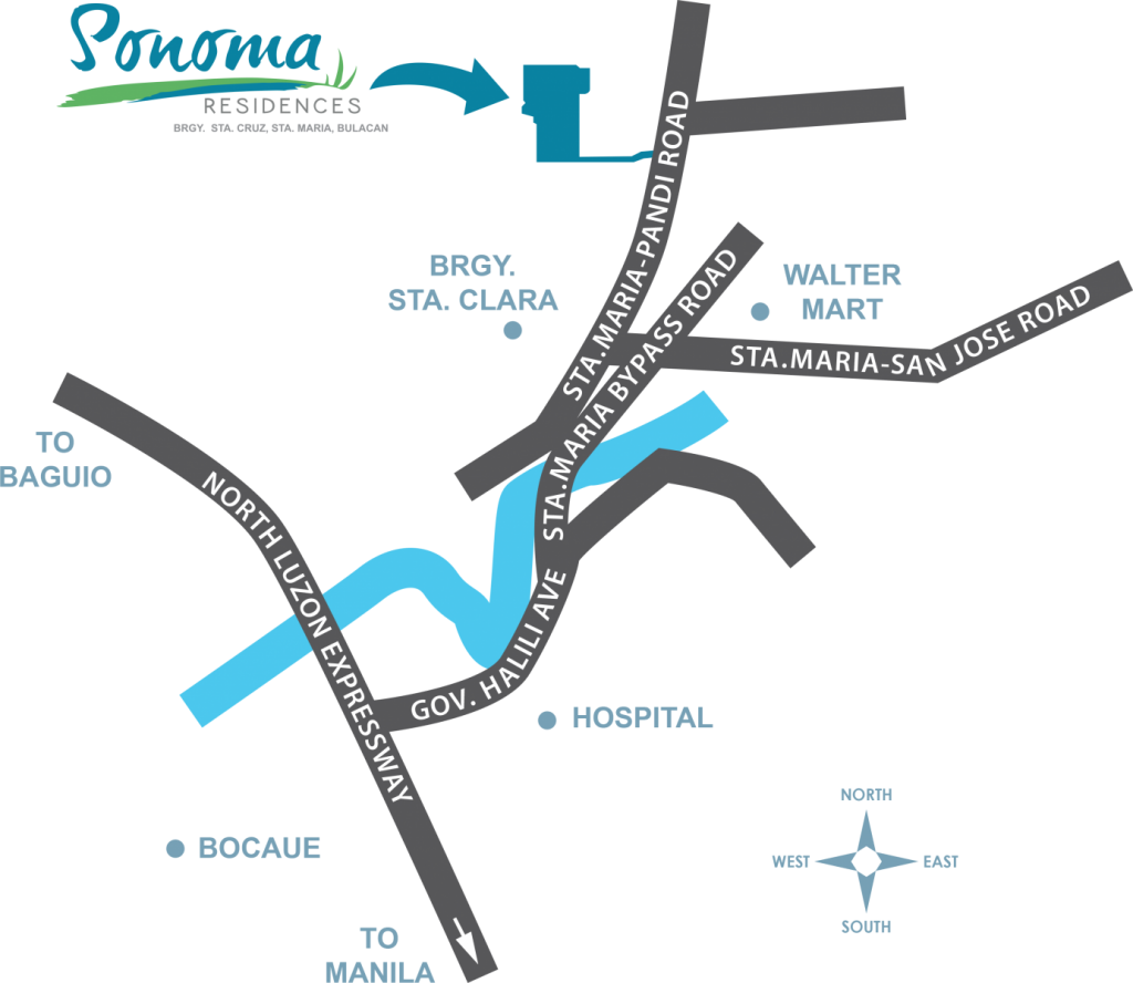 sonoma-location-map